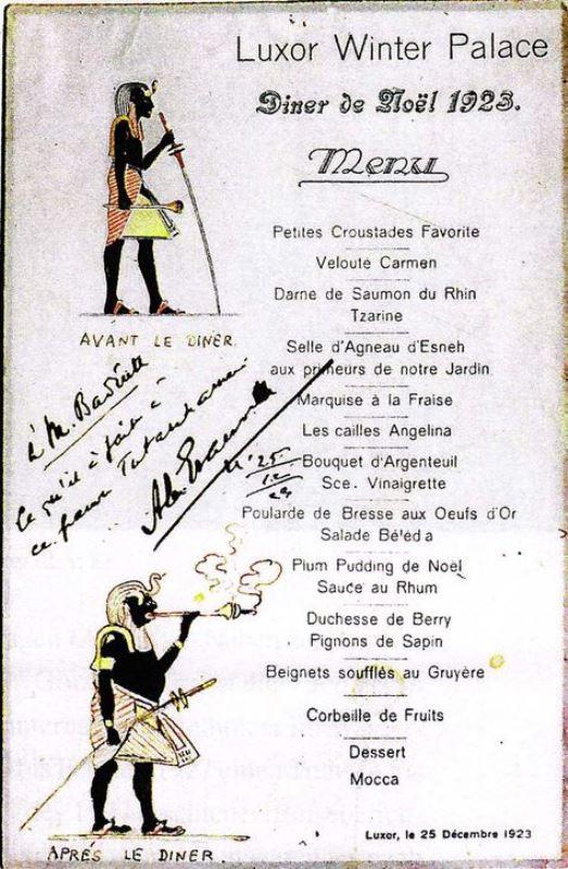 menu 1923